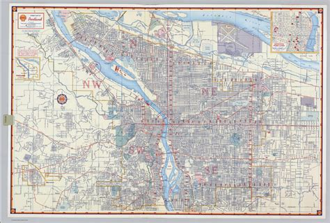map of portland map of portland or