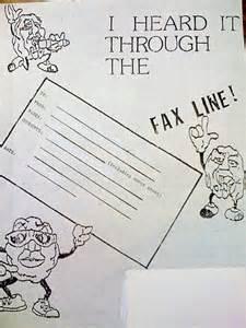 quot i heard it through the fax line quot california rasins cover