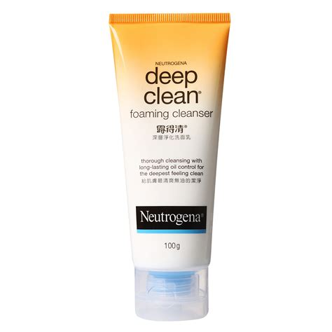 Toner Neutrogena neutrogena clean foaming cleanser 100g from redmart