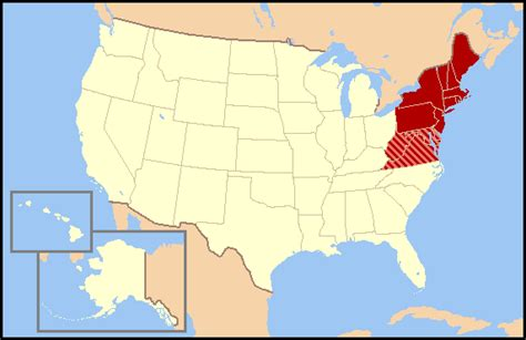 map us northeast northeast usa wikip 233 dia
