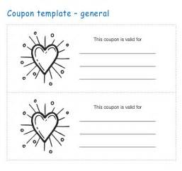 Free Template For Coupons by Coupon Templates 25 Free Word Pdf Psd Documents