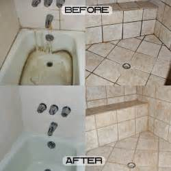 Grout Cleaning Before And After Shower Color Sealing Platinum Northwest Grout Works