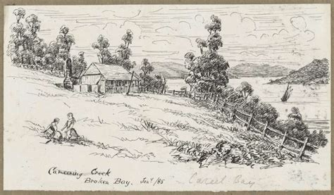 J Harold Bailey Sketches by Pittwater News