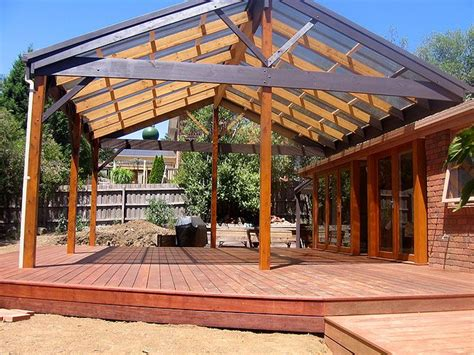 gable roof pergola plans the world s catalog of ideas