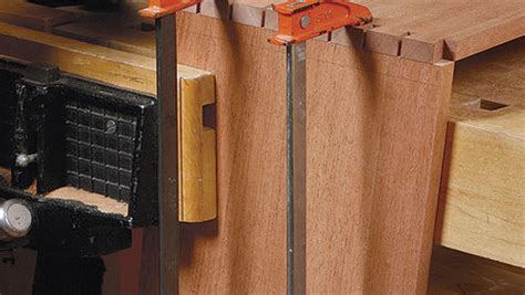 cut compound angle dovetails finewoodworking