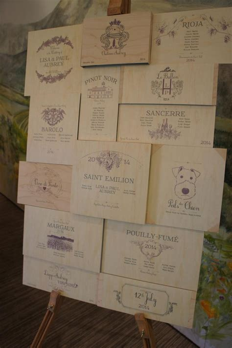7 creative ways to design your wedding seating chart