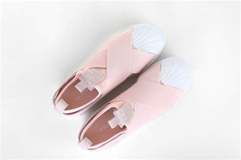 copordrop adidas originals superstar slip on quot light pink quot