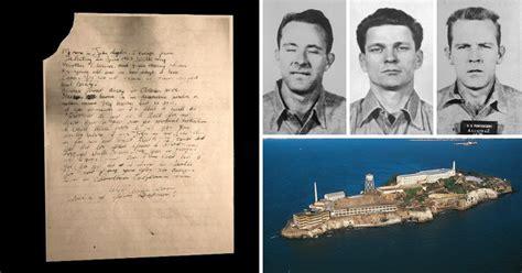 Alcatraz Escapee Writes Letter