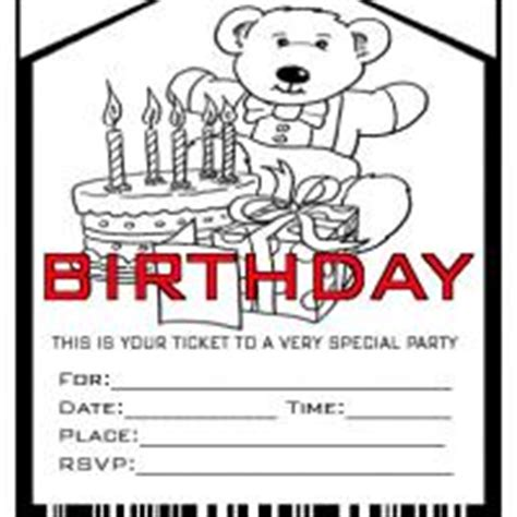 printable birthday invitations admit one birthday invitation card birthday party ideas