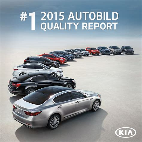 Autobild A K by Kia Takes Place In Auto Bild S Quality Report 2015