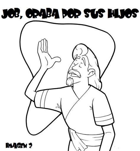 imagenes biblicas de job hacendado para colorear imagui