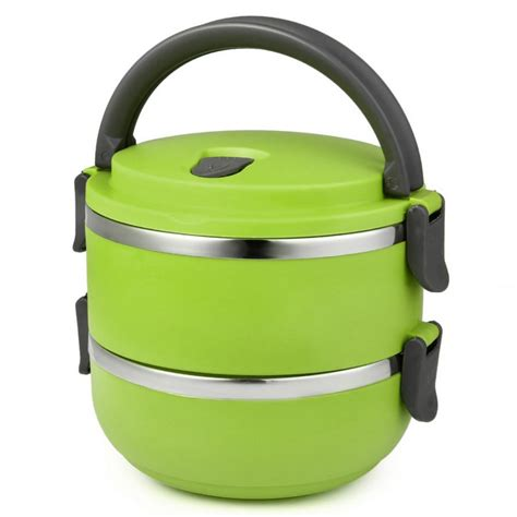 Fukorou 2 Layer Lunch Box 2 layer stainless steel lunch box in pakistan hitshop