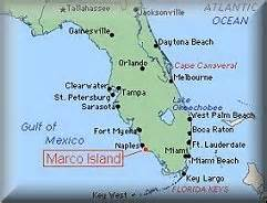 map of florida showing marco island marco island area information