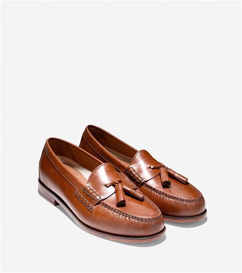 loafers for with tassels cole haan pinch grand tassel loafer in brown for