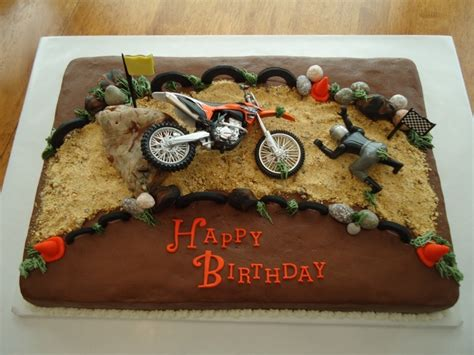 motocross bike cake motocross quot wrecked quot cake cakecentral com