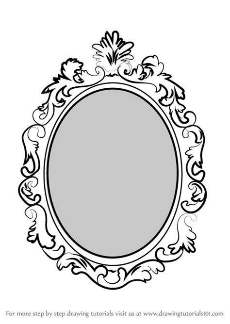 hand held mirror drawing  getdrawingscom