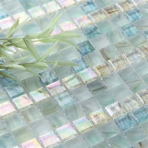 Mosaic Tile Ideas For Kitchen Backsplashes beautiful crystal glass tile for bathroom wall tiles and