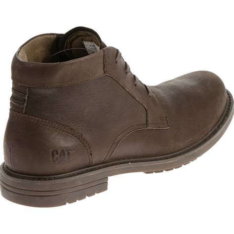 s cat footwear caterpillar brock low profile leather