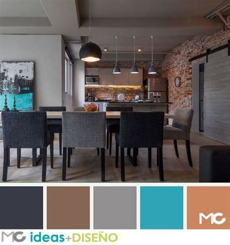 maravillosa  tendencias en colores para interiores 2015 #1: Decoracion-de-comedores-color-chocolate-8.jpg