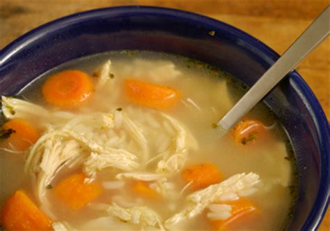 hearty chicken soup food food