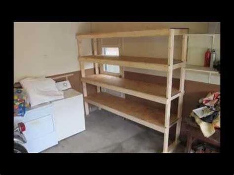 build  shelf   garage  basement youtube