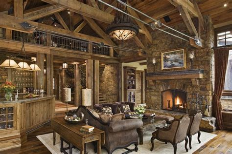 rustic home decor design rustic house design in western style ontario residence