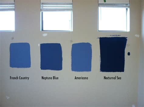 blues   bedroom  behr paints french country