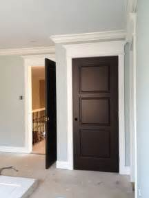 Painting Doors And Trim Different Colors Dark Doors White Trim This Looks Really Pretty But I M