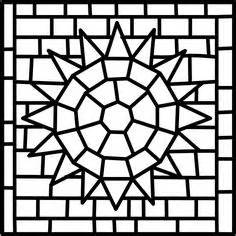 designs for mosaics templates 1000 images about mosaic on stained glass