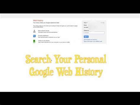 Look Up Search Search History How To Look Up Your Personal Search History