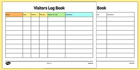 visitor pattern private members childminder visitors log book childminding childminder