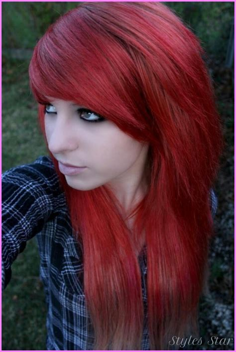 emo hairstyles no bangs emo haircut for girls bangs stylesstar com