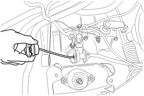 Pull The Clutch Cable To Remove It From The Clutch Lever