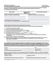 Release Of Information Consent Form Template by Patient Release Form Template