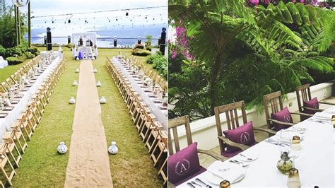 wedding venues in new on the water 20 tagaytay wedding venues as recommended by girltalk