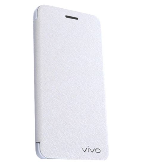 Sale Vivo Y51 White Tempered Glass Color Cover Quality shop leather flip covers for vivo mobiles now