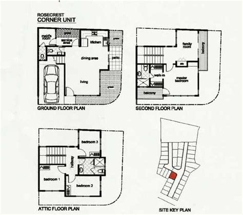 how to read a house plan crest residences house in talamban cebu city