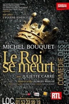 michel bouquet lecture quot le roi se meurt quot de ionesco avec michel bouquet 224 la