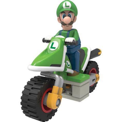 Tomica Limited Edition Mario Kart Luigi k nex mario kart luigi hover bike building set 38995
