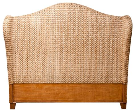Seagrass Headboard King Seagrass Headboard California King Headboards By Global Home