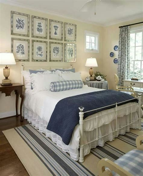 cottage camera letto bedrooms pinterest guest