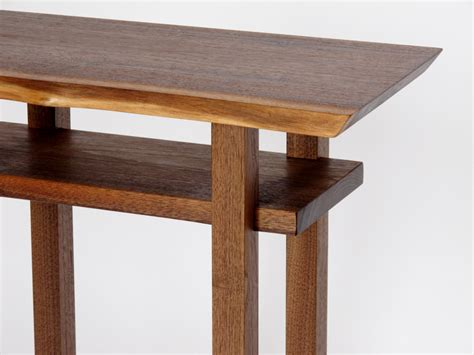 thin accent table narrow side table oak sofa tables jinanhongyu oak coffee