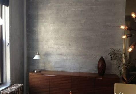 wandfarbe mit betonoptik f 252 r einen industriellen look - Wandfarbe Betonoptik
