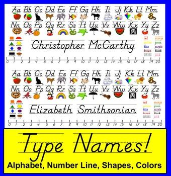 desk name plates for students desk plates name plates d nealian type names of students