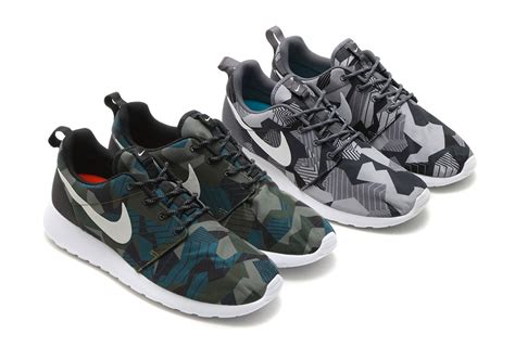 army pattern roshe nike creates a new style of quot camo quot print for the roshe one