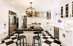 Gooseneck Kitchen Faucet Galley Style Kitchen Contemporary Kitchen