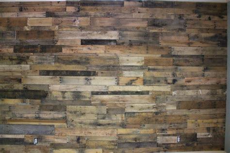 Atlanta Floor And Decor pallet wall in big canoe ga