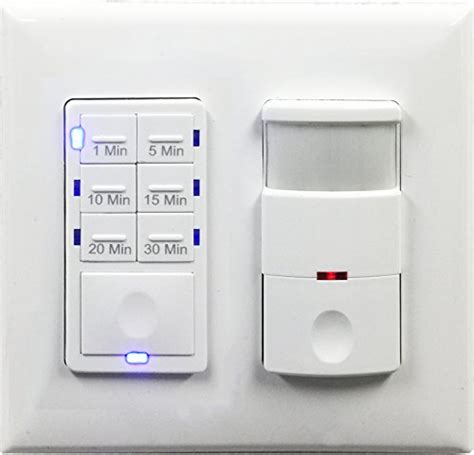 Bathroom Fan Timer With Light Switch Topgreener Bathroom Fan Timer Switch And Light Sensor