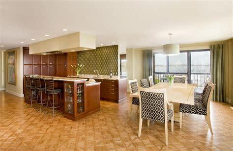 unique dining room ideas beautiful dining room design with unique flooring