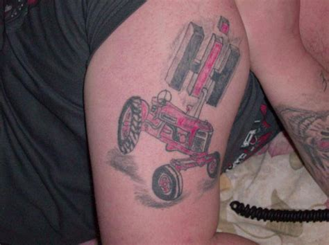 tractor tattoos tractor tattoomagz